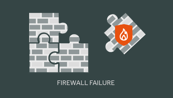 main reasons that firewalls fail