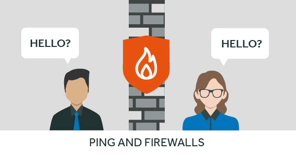 do firewalls affect ping