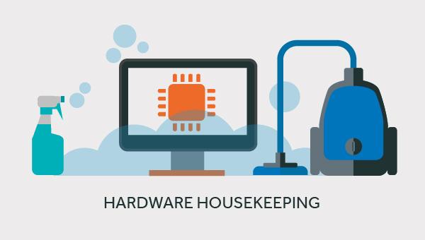hardware maintenance in lockdown