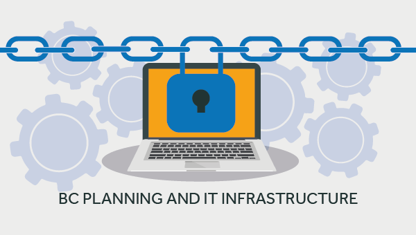 business continuity planning and IT infrastructure
