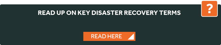 disaster recovery terminology
