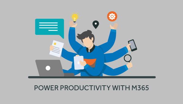 productivity with Microsoft 365