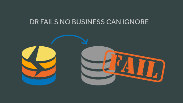 biggest disaster recovery fails